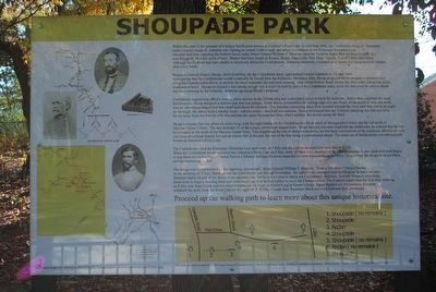 Shoupade Park Marker image. Click for full size.