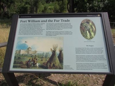 Fort William and the Fur Trade Marker image. Click for full size.