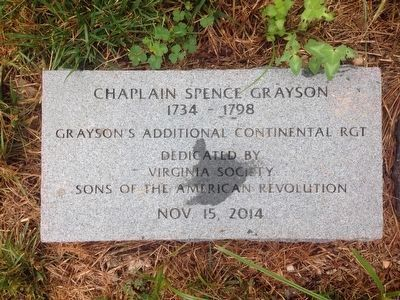 Spence Grayson Marker image. Click for full size.
