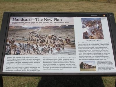 Handcarts – The New Plan Marker image. Click for full size.