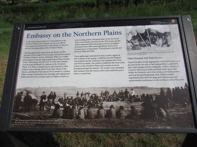 Embassy on the Northern Plains Marker image. Click for full size.