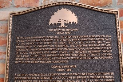 The Dreyfus Building Marker image. Click for full size.