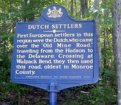 Dutch Settlers Marker image. Click for full size.