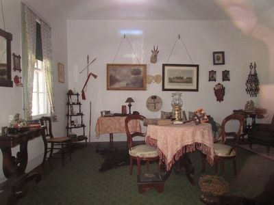 Inside the Captain's Quarters image. Click for full size.