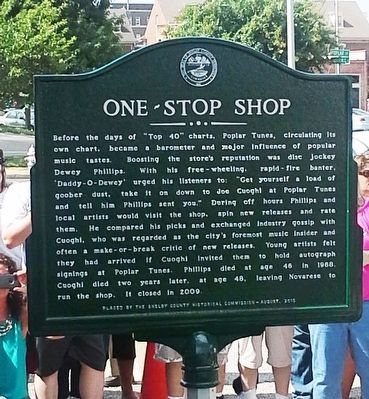 One-Stop Shop Marker image. Click for full size.