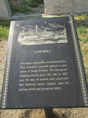 Sawmill	 Marker image. Click for full size.