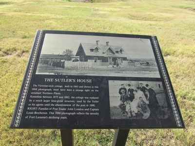 The Sutler's House Marker image. Click for full size.