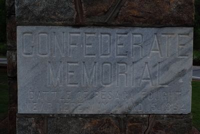 Confederate Memorial image. Click for full size.