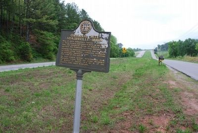 Original Site Adairsville — 1830's Marker image. Click for full size.