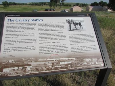 The Cavalry Stables Marker image. Click for full size.