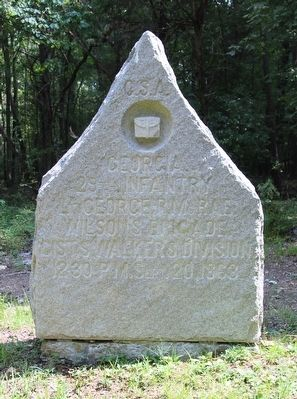 29th Georgia Infantry Marker image. Click for full size.