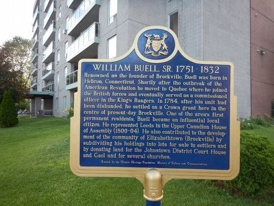 William Buell, Sr. Marker image. Click for full size.