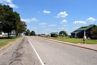 I-20 Eastbound Rest Area at Mile Marker 530 image. Click for full size.