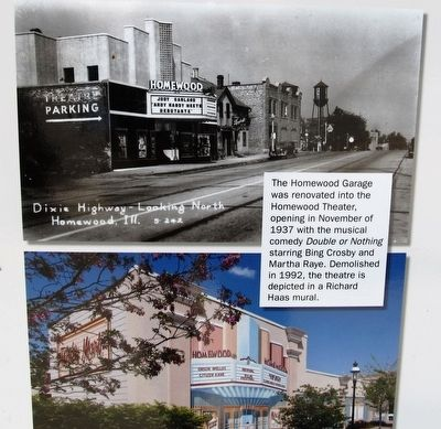 Dixie Highway Marker - lower left photo image. Click for full size.