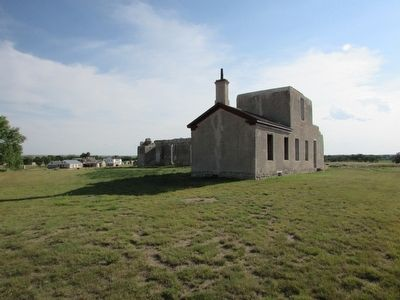 Remains of the Post Hospital at Fort Laramie image. Click for full size.