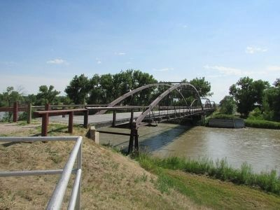 Army Bridge over the Platte River image. Click for full size.