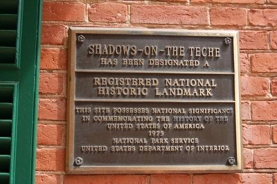 Shadows-On-The-Teche Marker image. Click for full size.