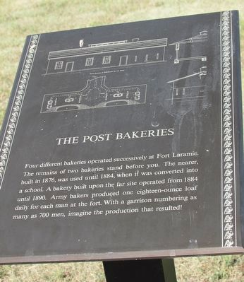 The Post Bakeries Marker image. Click for full size.