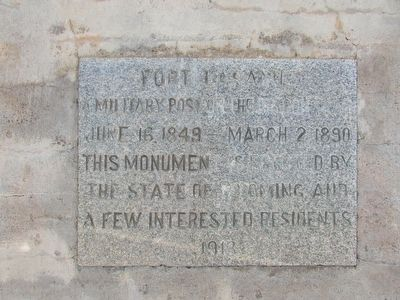 Fort Laramie Marker image. Click for full size.