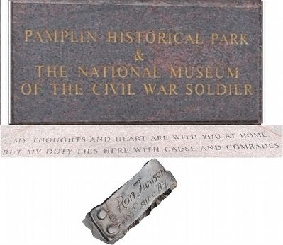 The Bivouac Monument Marker image. Click for full size.