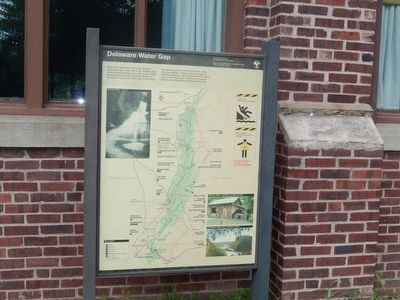 Delaware Water Gap National Recreation Area Marker image. Click for full size.