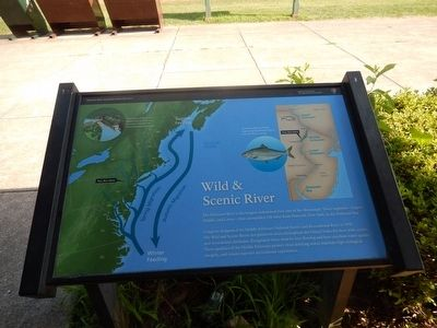 Wild & Scenic River Marker image. Click for full size.