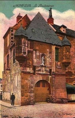 <i> Honfleur - La Lieutenance </i> image. Click for full size.