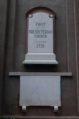 The First (Scots) Presbyterian Church/ Confederate Stone image. Click for full size.