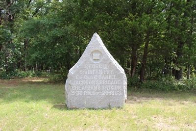 5th Georgia Infantry Marker image. Click for full size.