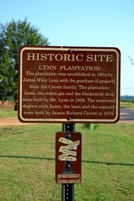 Lynn Plantation Marker image. Click for full size.