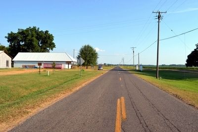 View to South Along State Highway 3049 image. Click for full size.