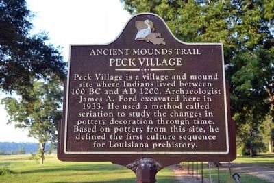 Peck Village Marker image. Click for full size.