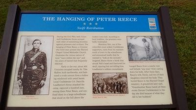 The Hanging of Peter Reece Marker image. Click for full size.