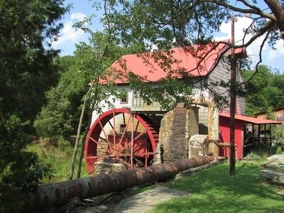 Bailes Old Mill image. Click for full size.