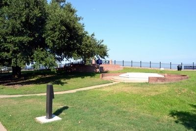 Ealey Brothers Marker near Bluff Park Fountain image. Click for full size.