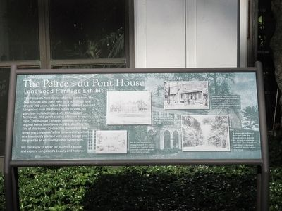 The Peirce - du Pont House Marker image. Click for full size.