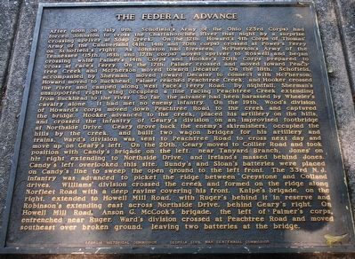 The Federal Advance Marker image. Click for full size.