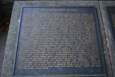 The Confederate Attack Marker image. Click for full size.