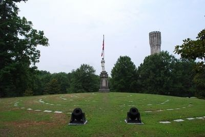 Westview Cemetery Confederate Memorial image. Click for full size.