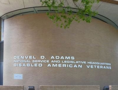 Denvel D. Adams National Service and Legislative Headquarters image. Click for full size.