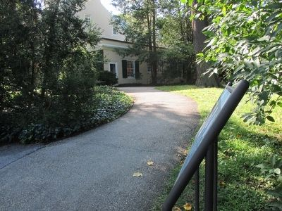 Peirce's Park Marker & Pierce - du Pont House image. Click for full size.