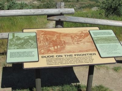 Dude on the Frontier Marker image. Click for full size.