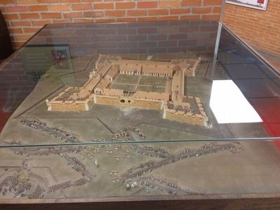 Model of Fort Condé. image. Click for full size.