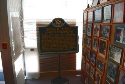Hank Williams Alabama Troubadour Marker (copy) image. Click for full size.