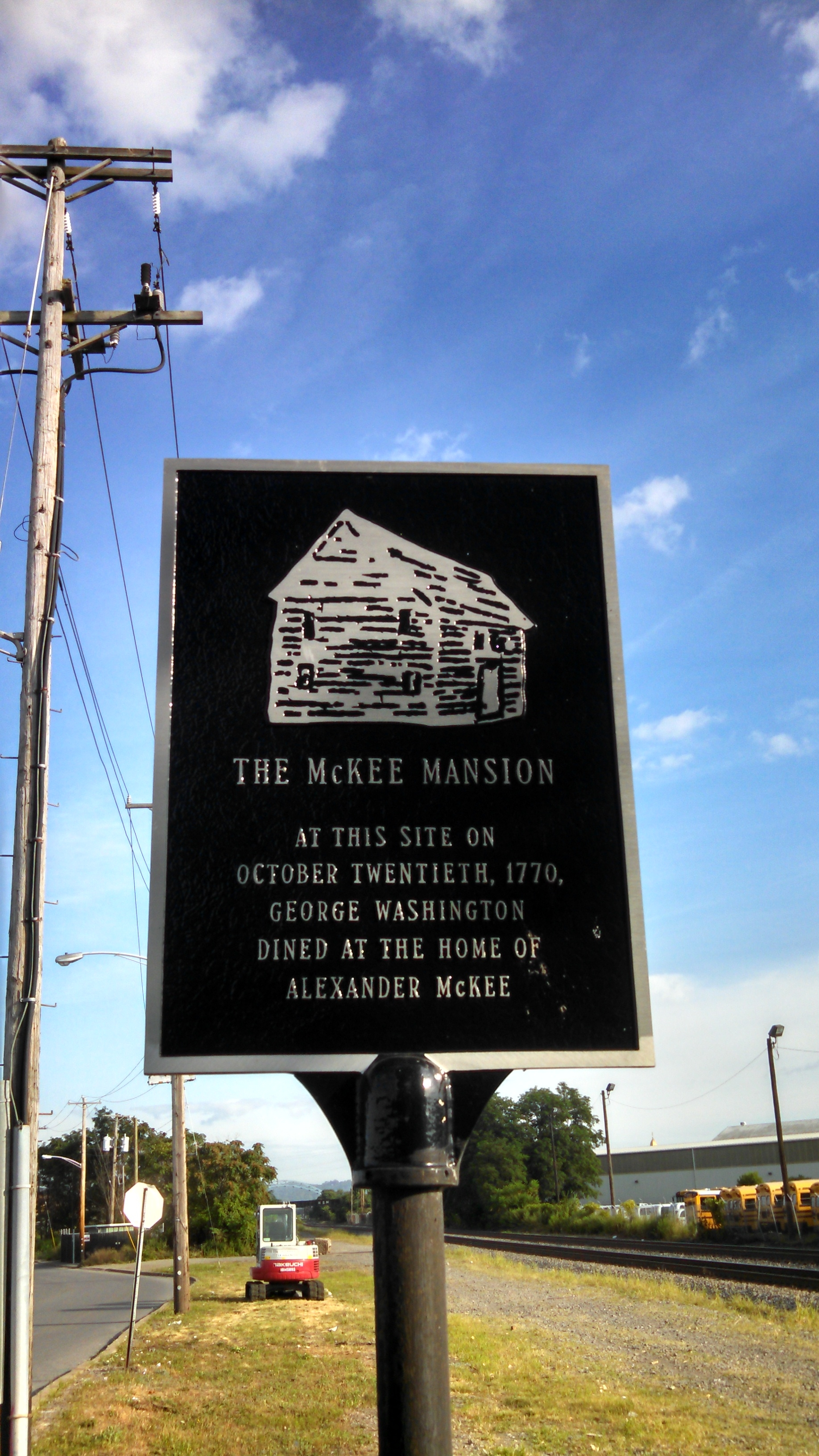 The McKee Mansion Marker