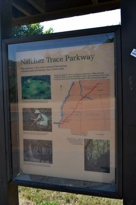 Accompanying Interpretive Sign on<br>Natchez Trace Parkway image. Click for full size.