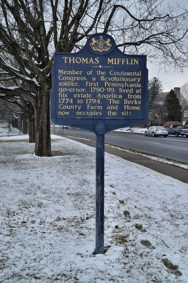 Thomas Mifflin Marker image. Click for full size.