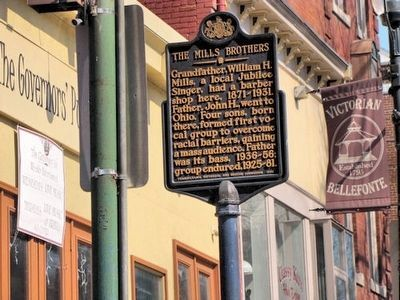 The Mills Brothers Marker image. Click for full size.
