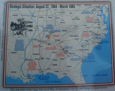 Strategic Situation: August 22, 1864 - March 1865 image. Click for full size.