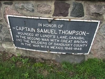 Captain Samuel Thomson Marker image. Click for full size.